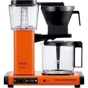 モカマスター ドリップ コーヒーメーカー オレンジ MM741AO-OR コントラスト|n-kitchen