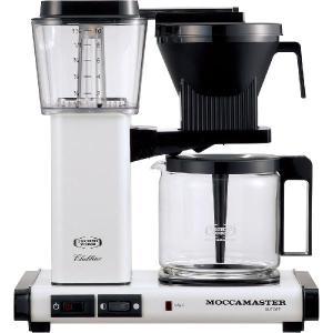 モカマスター ドリップ コーヒーメーカー メタリックホワイト MM741AO-MW コントラスト|n-kitchen