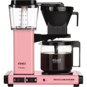 モカマスター ドリップ コーヒーメーカー ピンク MM741AO-PK コントラスト|n-kitchen