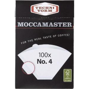 モカマスター 専用ペーパーフィルター No.4 100枚入 MMF-4 コントラスト|n-kitchen