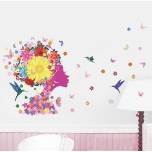 ★お部屋が素敵な空間に早変わり!!貼るだけで簡単に模様替えできます♪  部屋を明るく華やかにドレスア...