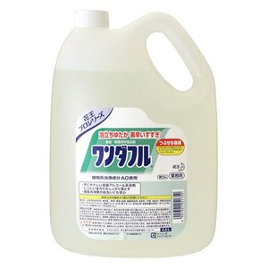 Kao ワンダフル 4.5L×4本入 1箱|n-mark