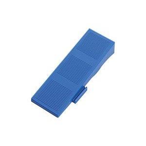 山崎産業 システムスノコ スロープ縁 青 30枚入 1箱|n-mark