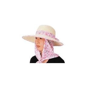 #6763 婦人・麦・ハマグリスカーフ付(脱着タイプ) フリーサイズ 1枚 n-mark