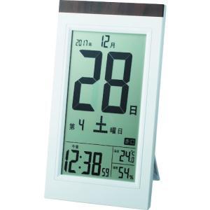 ADESSO デジタル日めくり電波時計 KW9...の関連商品3