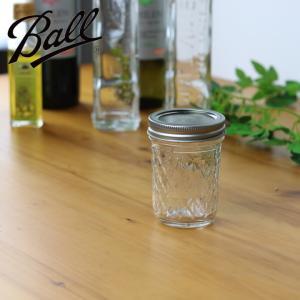 ( メイソンジャー キルトクリスタル 250 ) Ball ボール 保存 瓶 容器 密封 ガラス ジャム アメリカ製|n-raffine