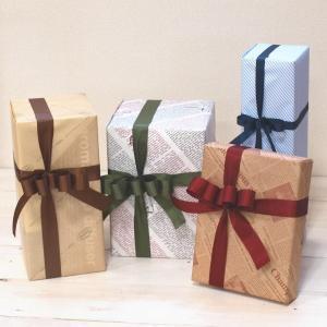 ( 包装&リボン ) 包装&リボン おまかせ レッド ネイビー モスグリーン エンジ ブラウン|n-raffine
