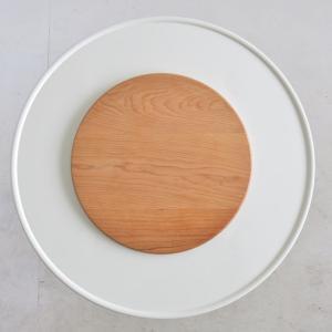 丸型ストーブガード専用木製円卓(チェリー)|n-room