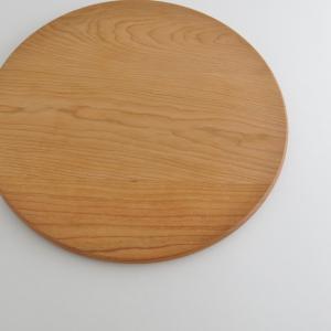 丸型ストーブガード専用木製円卓(チェリー)|n-room|02