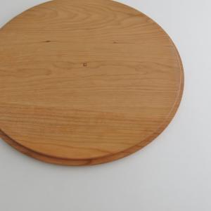丸型ストーブガード専用木製円卓(チェリー)|n-room|03