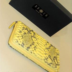 財布 長財布 レザー 本革 BBCO ビビコ・コレクション newマットパイソン GB-17807-4|n-shopping