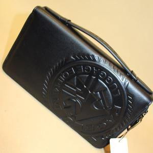 セカンドバック 長財布 メンズ セール50%OFF アンジェロ パジェロ ブラック po-0208-07-05|n-shopping