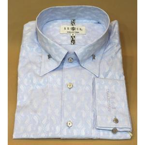 BBCO ビビコ ドレスシャツ カッターシャツ ワイシャツ ブルー セール44%OFF LL 3L w−13809−1|n-shopping