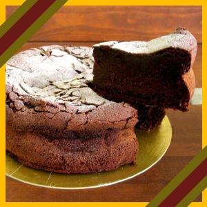 大人のチョコレートケーキ 濃厚!ガトーショコラ 15cm クーベルチュールチョコとバンホーテンココアを贅沢使用