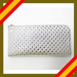 長財布 レディース 本革 日本製 L字型 FU-SI FERNALLE イタリア製ラムレザー ホワイト n-shopping