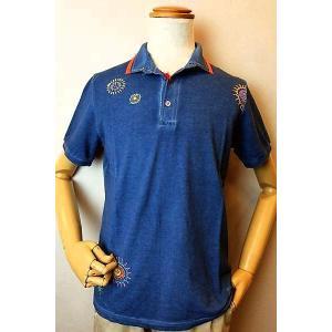 30%OFF BOB ボブ 半袖ポロシャツ ブルー イタリア製