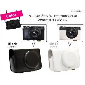 カメラケース FUJIFILM XQ1 (富士フィルム)  デジカメケース ネックストラップセット