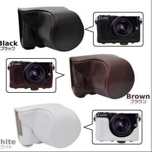 カメラケース Panasonic LUMIX DMC-GM1K レンズキット対応 ネックストラップセット n-style