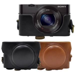 カメラケース SONY Cyber-shot DSC-RX100M3/RX100M4 デジカメキャリーケース ネックストラップセット n-style