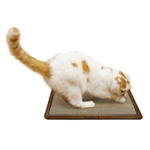 フローリング感覚 キャットスクラッチ 床置きタイプの猫用爪磨き ドギーマン n-style