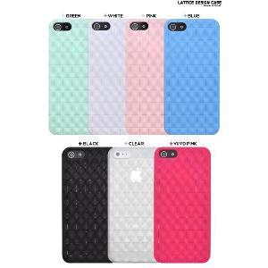 iPhone5 iPhone5S iPhone5 SE ラティスデザインソフトケース アイフォンカバー|n-style