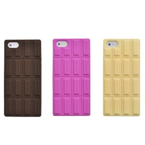 iPhone5 iPhone5S iPhone5 SEケース チョコレート風シリコンケース iPhone5 iPhone5S iPhone5 SEソフトケース アイフォンカバー|n-style