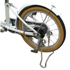 両足スタンド★16インチ子供用自転車専用|n-style