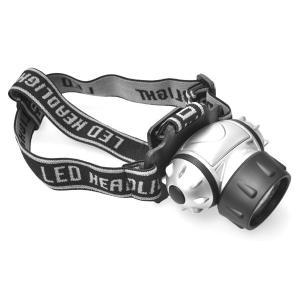LEDヘッドライト 高輝度LED18灯 作業用 アウトドア用 ヘッドランプ|n-style