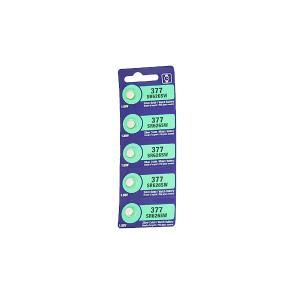 時計用 ボタン電池 時計用電池 (SR626SW(377)) 100個入り/1CT 時計電池|n-style