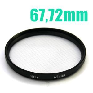 クロスフィルター(フィルター径67・72mm)カメラ用フィルター|n-style