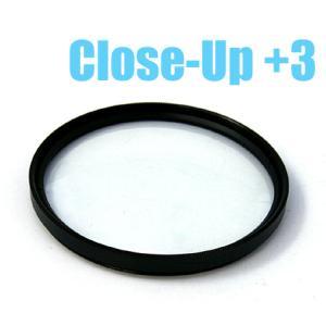 クローズアップレンズ(+3) フィルター径67mm、72mm|n-style