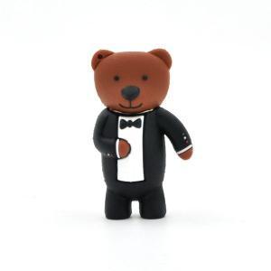 USB メモリ 16GB ギャルソンクマ型 おもしろUSBメモリー 動物|n-style