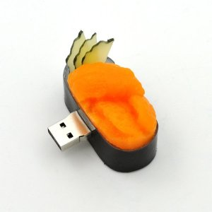 USB メモリ 16GB 寿司ウニ うに 軍艦  おもしろUSBメモリー お寿司 フェイクフード|n-style