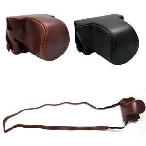 PENTAX Q カメラケース&ストラップセット ズームレンズ対応 n-style