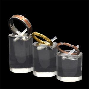 リングスタンド(アクリル)SML3個セット 指輪 ディスプレイ ジュエリー アクセサリー 収納の写真