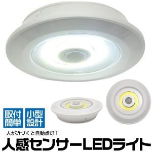 LED人感センサーライト 乾電池 センサー LEDライト 玄関 クローゼット 物置 自動点灯 照明 n-style