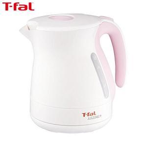 T-fal(ティファール) 電気ケトル ジャスティン プラス 1.2L シュガーピンク KO340178|n-tools