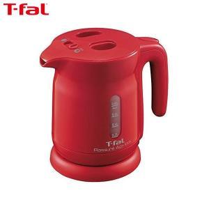 T-fal (ティファール) 電気ケトル 0.8L ラシュレ エージー・プラス ロック 銀イオン抗菌 コーラルレッド KO4205JP|n-tools