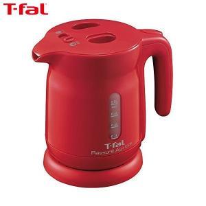 T-fal(ティファール) 電気ケトル 0.8L ラシュレ エージー・プラス ロック 銀イオン抗菌 コーラルレッド KO4205JP|n-tools