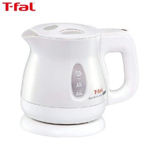 T-fal ティファール 電気ケトル アプレシア Ag+ エージー・プラス ロック 抗菌 パールホワイト 0.8L KO4301JP|n-tools