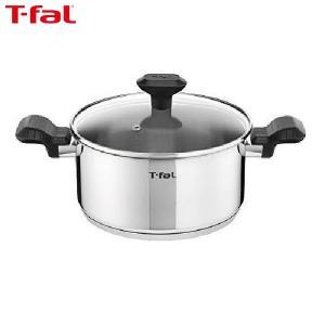 T-fal (ティファール) コンフォートマックス IH対応 ステンレス 両手鍋 20cm ST20 C99544 n-tools