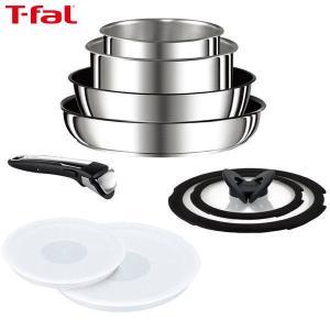 T-fal(ティファール) インジニオ・ネオ ステンレス・エクセレンス セット9 IH対応 L93989|n-tools