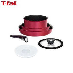 T-fal (ティファール) 鍋 フライパン 6点 セット インジニオ・ネオ ルビー・エクセレンス L66391|n-tools