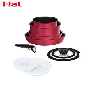 T-fal (ティファール) 鍋 フライパン 9点 セット インジニオ・ネオ ルビー・エクセレンス L66392|n-tools