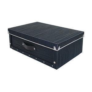 アンティークスタイル モジュールボックス 浅型 ブラック ASB2-A-BK 東洋ケース|n-tools
