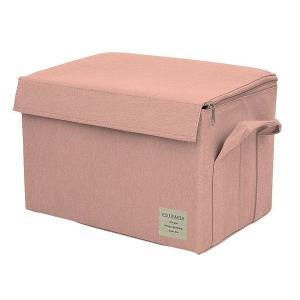 EStraria Nature 収納ボックス Mサイズ ピンク ふた付き ESTN-CBM-PK ストレリアナチュレ 東洋ケース|n-tools