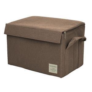 EStraria Nature 収納ボックス Mサイズ ブラウン ふた付き ESTN-CBM-BR ストレリアナチュレ 東洋ケース|n-tools