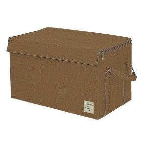 EStraria Nature 収納ボックス Lサイズ ブラウン ふた付き ESTN-CBL-BR ストレリアナチュレ 東洋ケース|n-tools