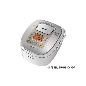 Panasonic(パナソニック) 1升 炊飯器 IH式 ホワイト SR-HB184-W|n-tools