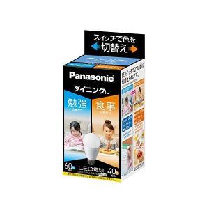 Panasonic(パナソニック) LED電球 口金直径26mm 電球60W形相当 昼光色相当(9.0W)/電球色相当(6.6W) 一般電球・光色切替えタイプ LDA9GKUDNW|n-tools